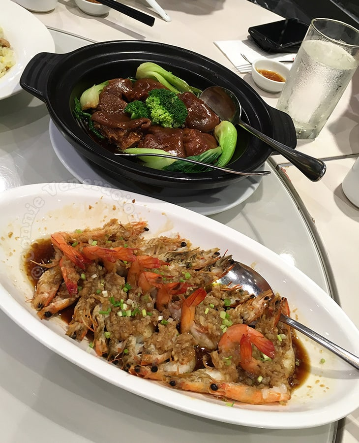 Lunch at Lugang Cafe