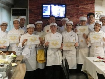Culinary School Graduation