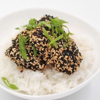 Sesame Seed-crusted Fish Fillet