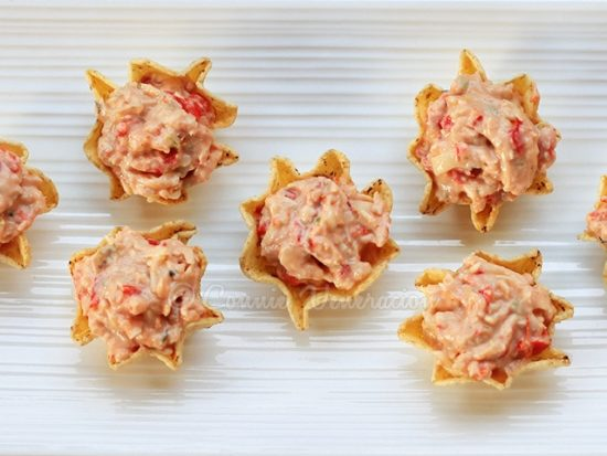 Tuna and Cheese Nibbles