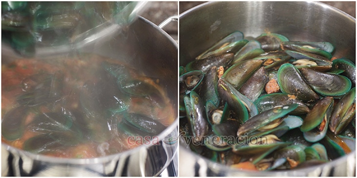 How To Cook Mussels & Chorizo in Ginger Ale