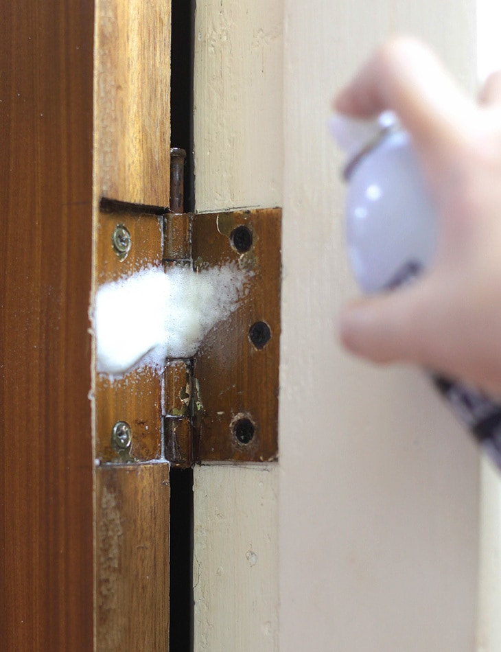 How To Use Cooking Spray on Squeaky Doors and Windows