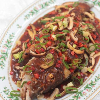 Chinese-style Fried Fish With Black Beans and Chili Sauce