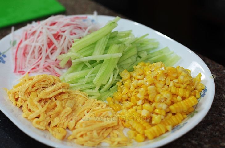 How To Make Hiyashi Chuka (Cold Ramen)