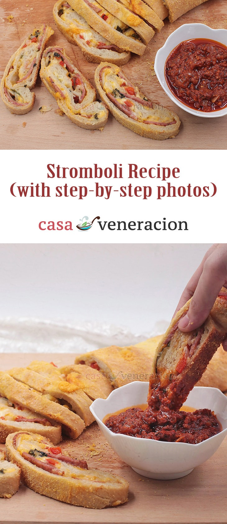 As Italian as its name may sound, stromboli—rolled bread stuffed with cheese and Italian meats—is American and named after a film starring Ingrid Bergman.