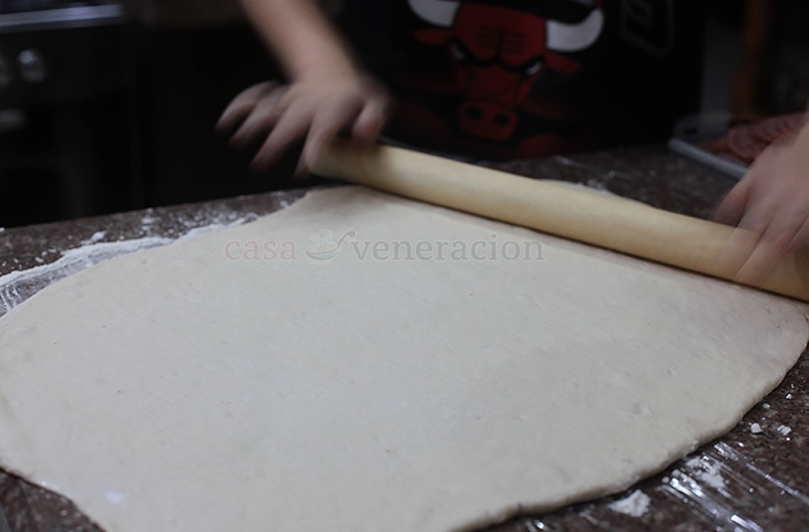Stromboli recipe with step-by-step photos