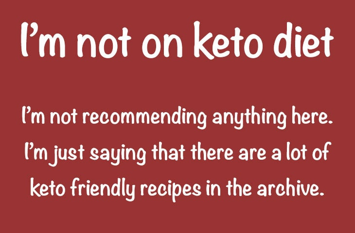 279 keto diet friendly recipes in the archive!
