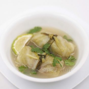 Thai Cabbage Rolls Soup