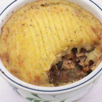 Leftover Roast Turkey Farmer's Pie Recipe