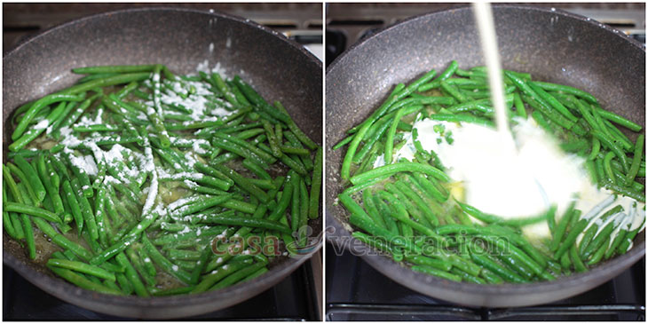 Green beans casserole recipe with step-by-step photos @casaveneracion