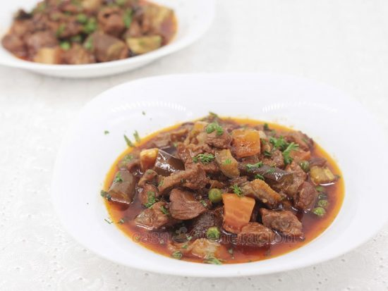 Paprika and Cranberry Pork Stew