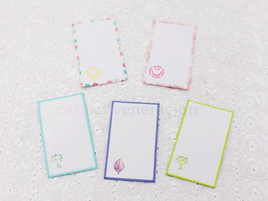 Make Beautiful Gift Tags With Old Business Cards