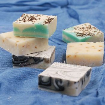 In our bid to live more naturally, we have refrained from buying commercial bath soaps. My husband, Speedy, went to a soap-making class and we've been using the bath soaps he made by hand.