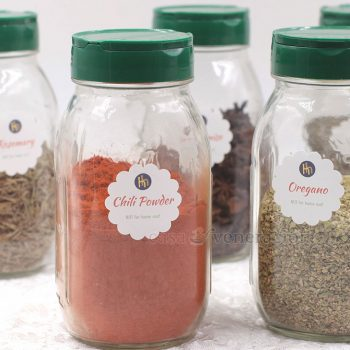 Kitchen Organizing: Label the Jars, Not the Caps. Here's Why.