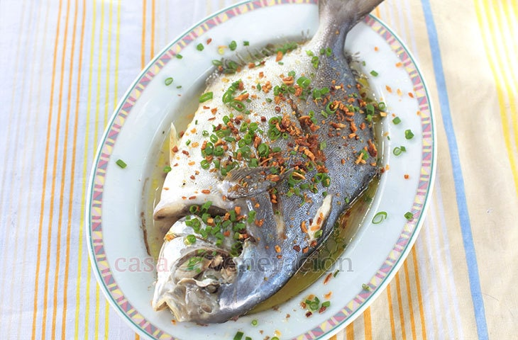 The Chinese Believe That Serving Whole Fish Will Bring Luck