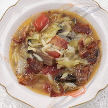 How to Cook Cabbage and Tomato Soup with Orzo