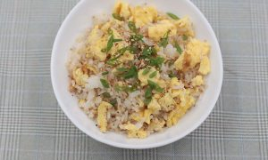 Learn to make the tastiest and most aromatic egg fried rice!