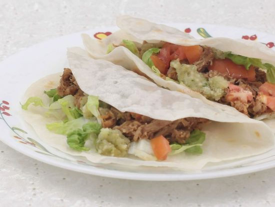 Carnitas Tacos With Pico de Gallo