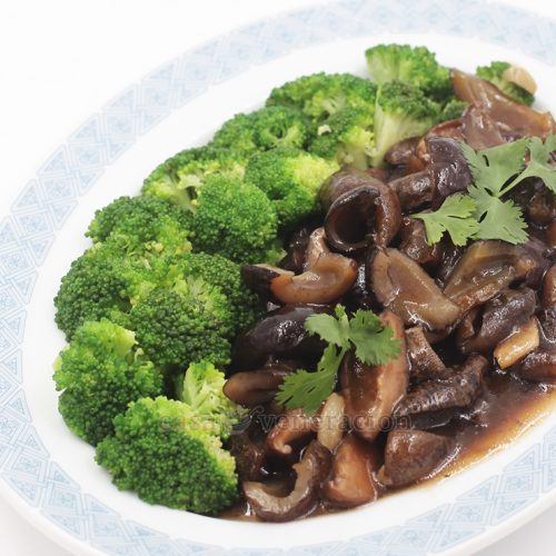 Chinese-style Braised Sea Cucumbers and Shiitake Mushrooms Recipe
