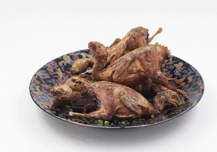 How to cook tender juicy quails