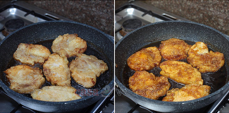 Pork chops, Asian-style recipe step 4: Cook the fried pork chops in the sauce