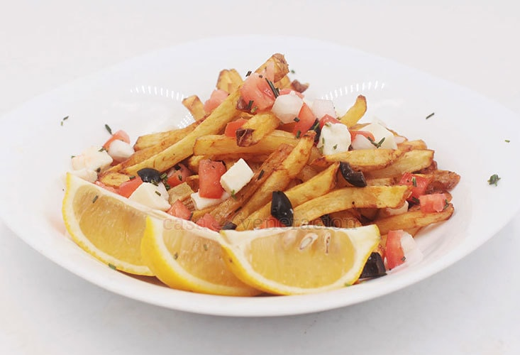 Greek-inspired Fries