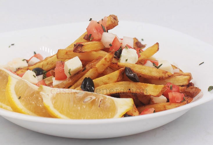 Greek-inspired Fries Recipe