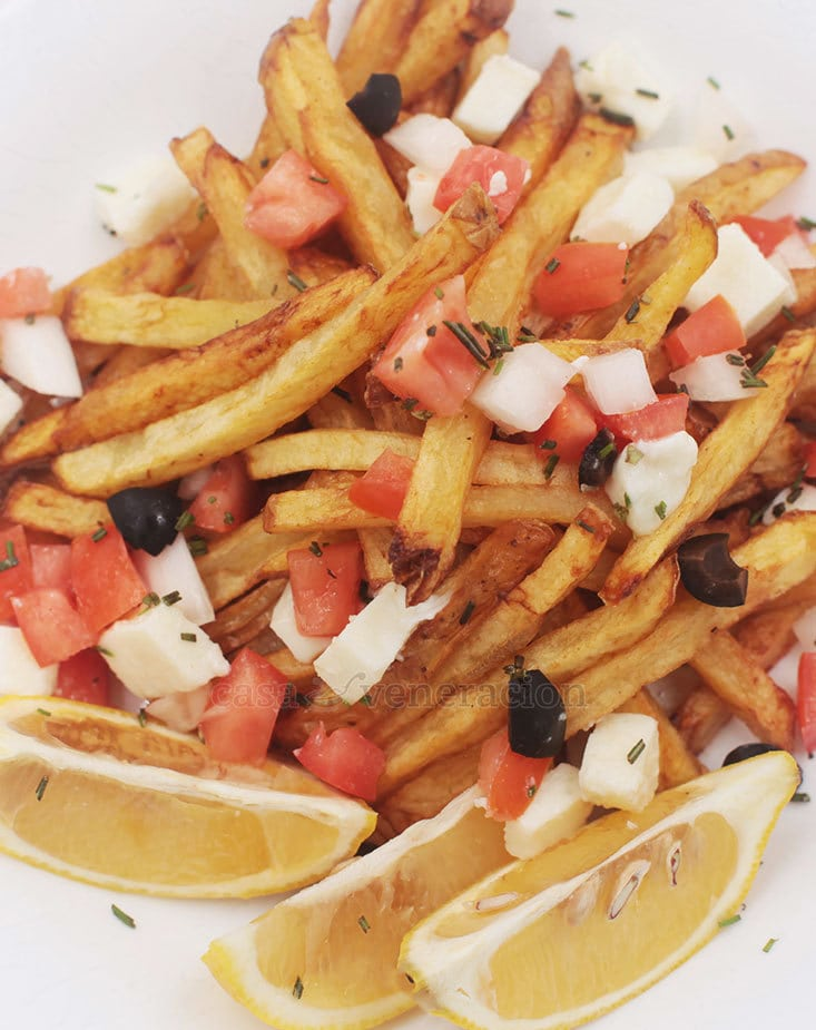 Enjoy Greek-inspired Fries!