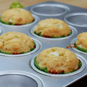 Onion and Kesong Puti (Carabao Milk Cheese) Breakfast Muffins