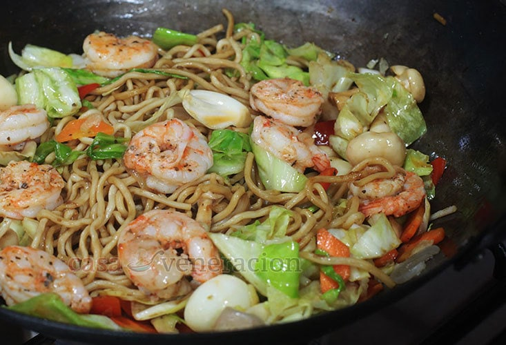 Shrimp Chow Mein Recipe