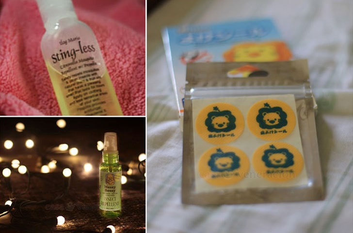 Ilog Maria's Citronella Spray, Messy Bessy and anti-mosquito patches