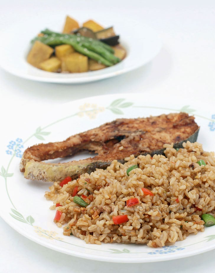Cook this delicious Chili Mushroom Fried Rice today!