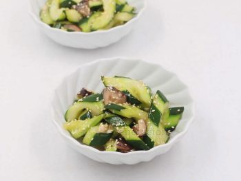 Must Try: Shiitake and Cucumber Stir Fry