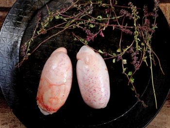 Offal: Bull's testicles