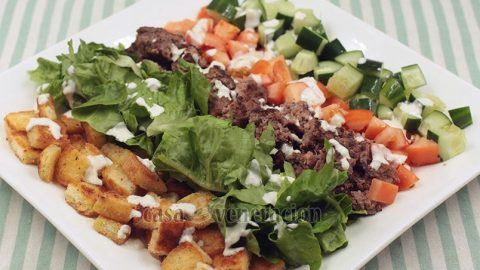 Burger Salad Recipe