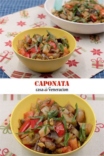 This holiday season, surprise family and friends by serving caponata as a side dish