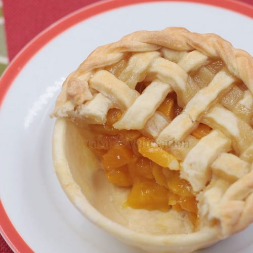 Delicious and Easy! Alex's Mango ang Peach Pies.