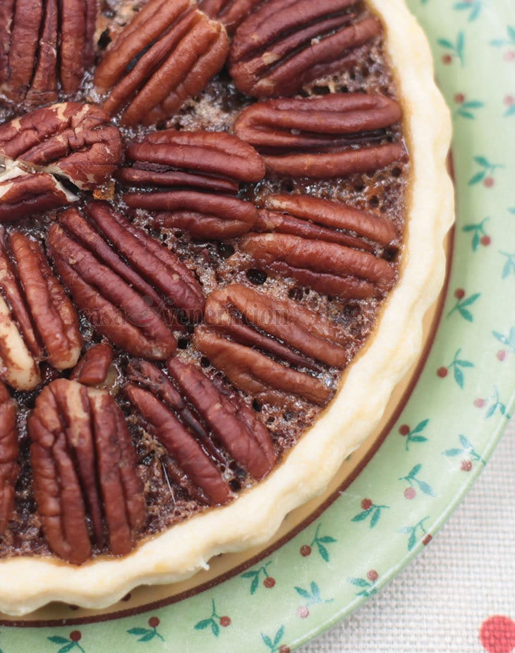 Pecan Tart for Thanksgiving and Christmas!