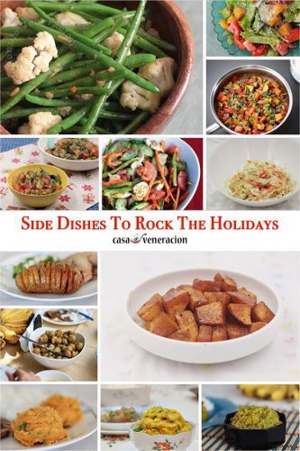 Potatoes, salads, vegetable stews, rice and bread: Side Dishes to Rock the Holidays