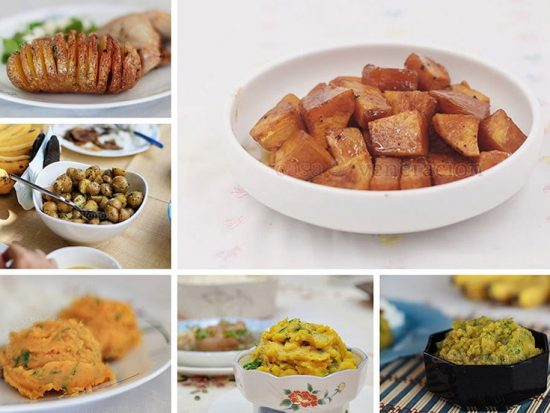 Potatoes, Sweet Potatoes and Squash Side Dishes to Rock the Holidays