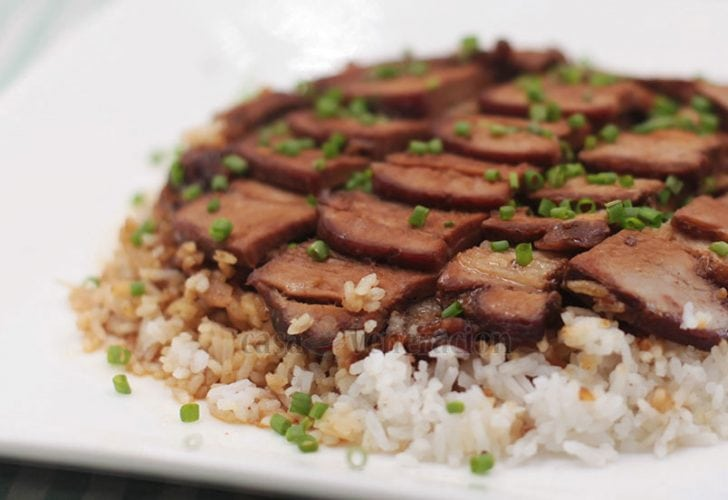 Slow Cooker Pork Belly With Barbecue Sauce