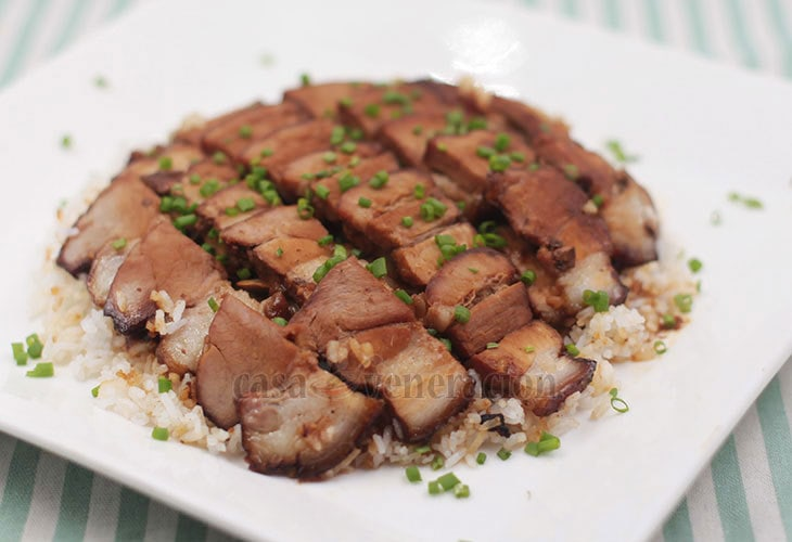 Holiday Perfect Slow Cooker Pork Belly With Barbecue Sauce