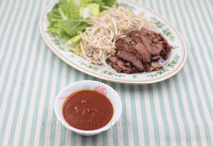 Homemade no-cook satay sauce