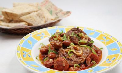 Fabada-Style Lamb and Bean Stew Recipe