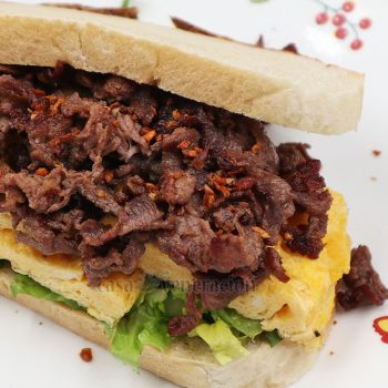 How to Make Beef Tapa Sandwich
