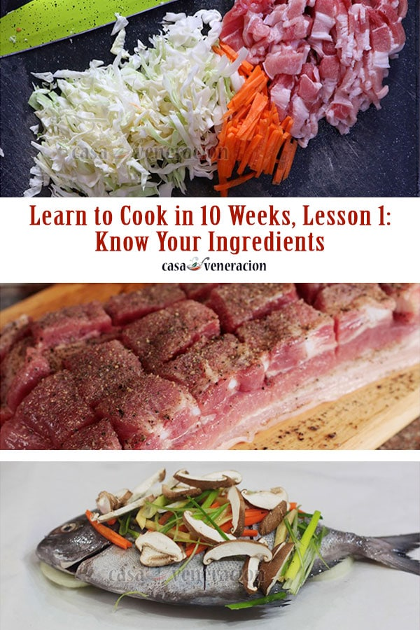 How to Cook, Lesson 1: Know Your Ingredients