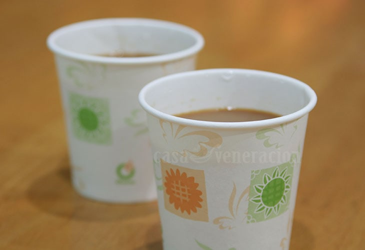 Disposable paper cups are your best friend during a water crisis.
