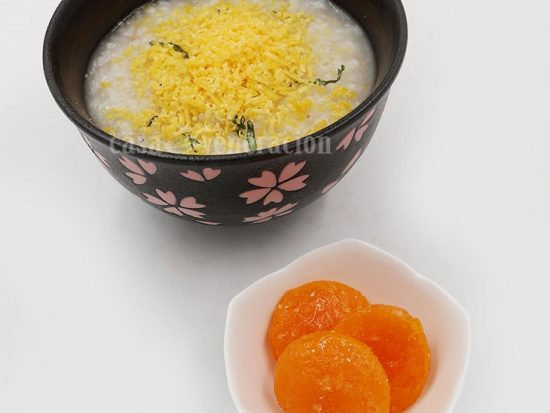 How to Make Salted Egg Yolk for Congee Topping