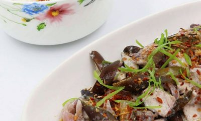 Adobong Isda at Talong sa Gata (Fish and Eggplant Adobo with Coconut Milk) Recipe
