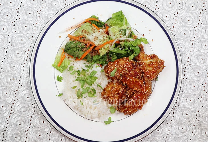 Baked Peanut Sesame Chicken Wings Recipe